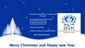 Priecīgus svētkus BVK